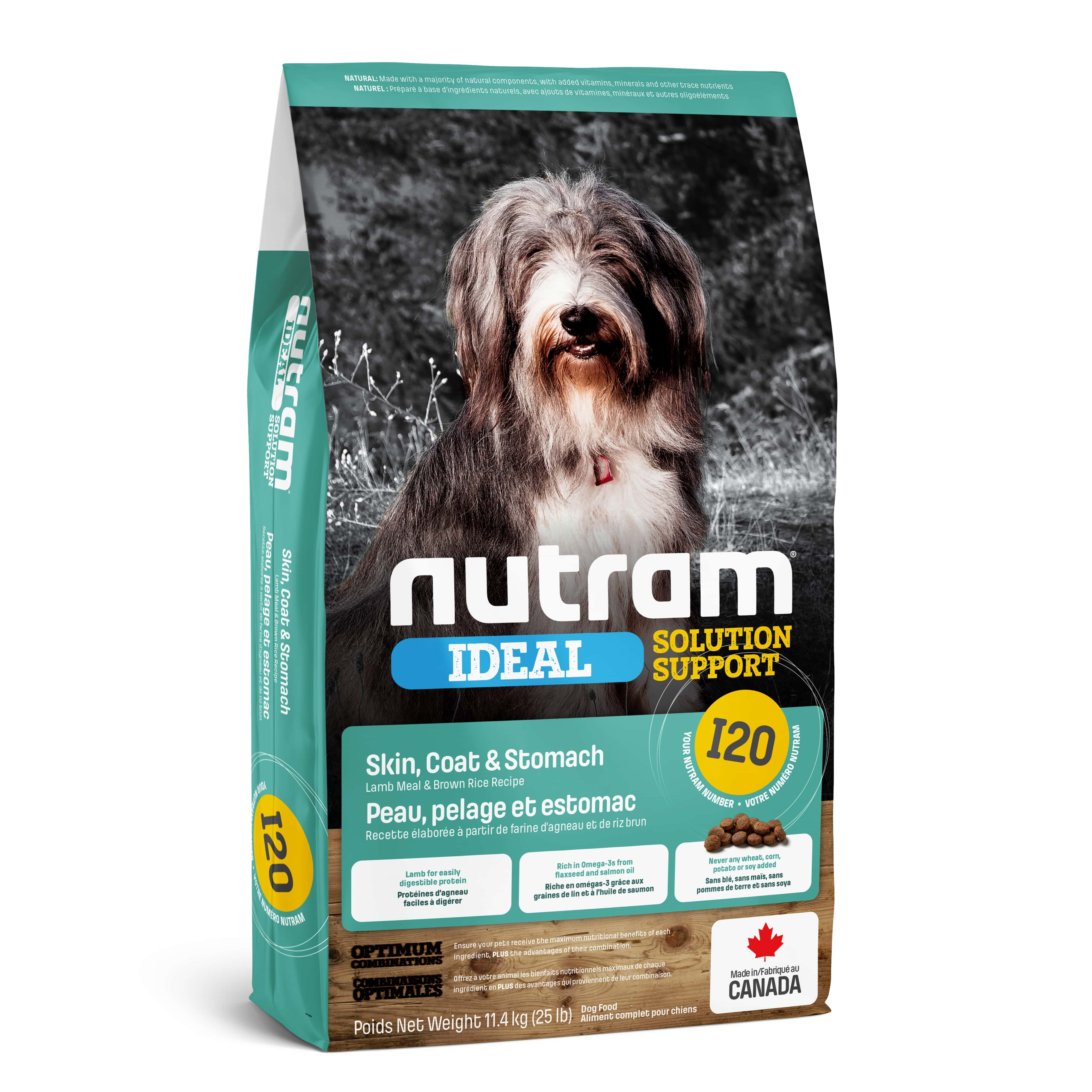 I20 Nutram Ideal Solution Support® Sensetive Dog Natural Food