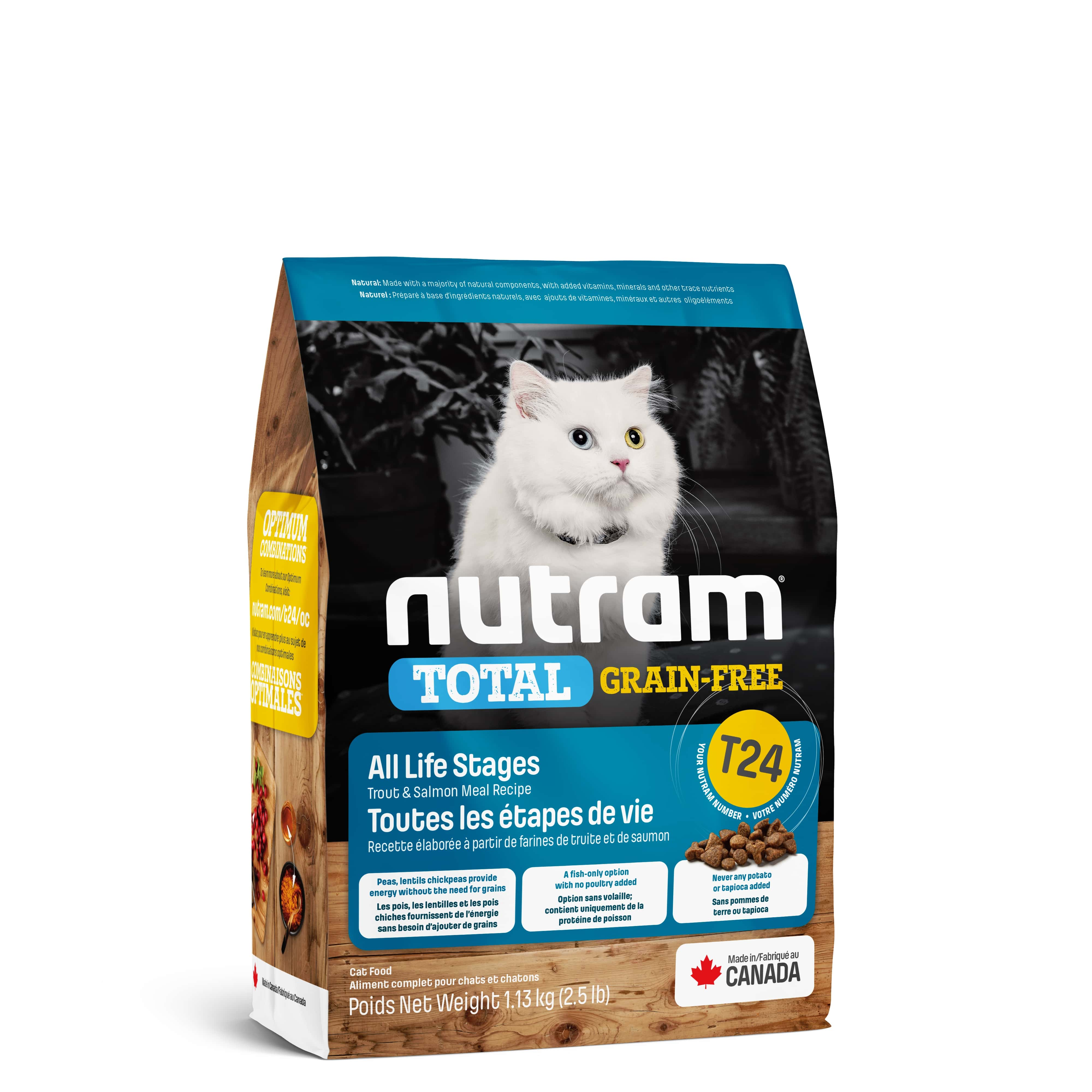T24 Nutram Total Grain-Free® Salmon & Trout Cat Food