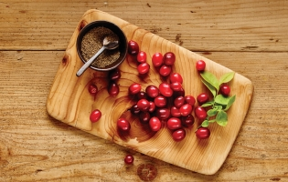 Cranberries + Celery Seeds