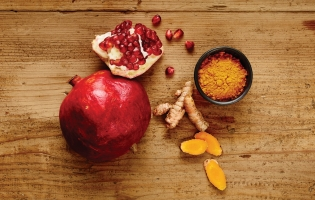 Pomegranate + Turmeric