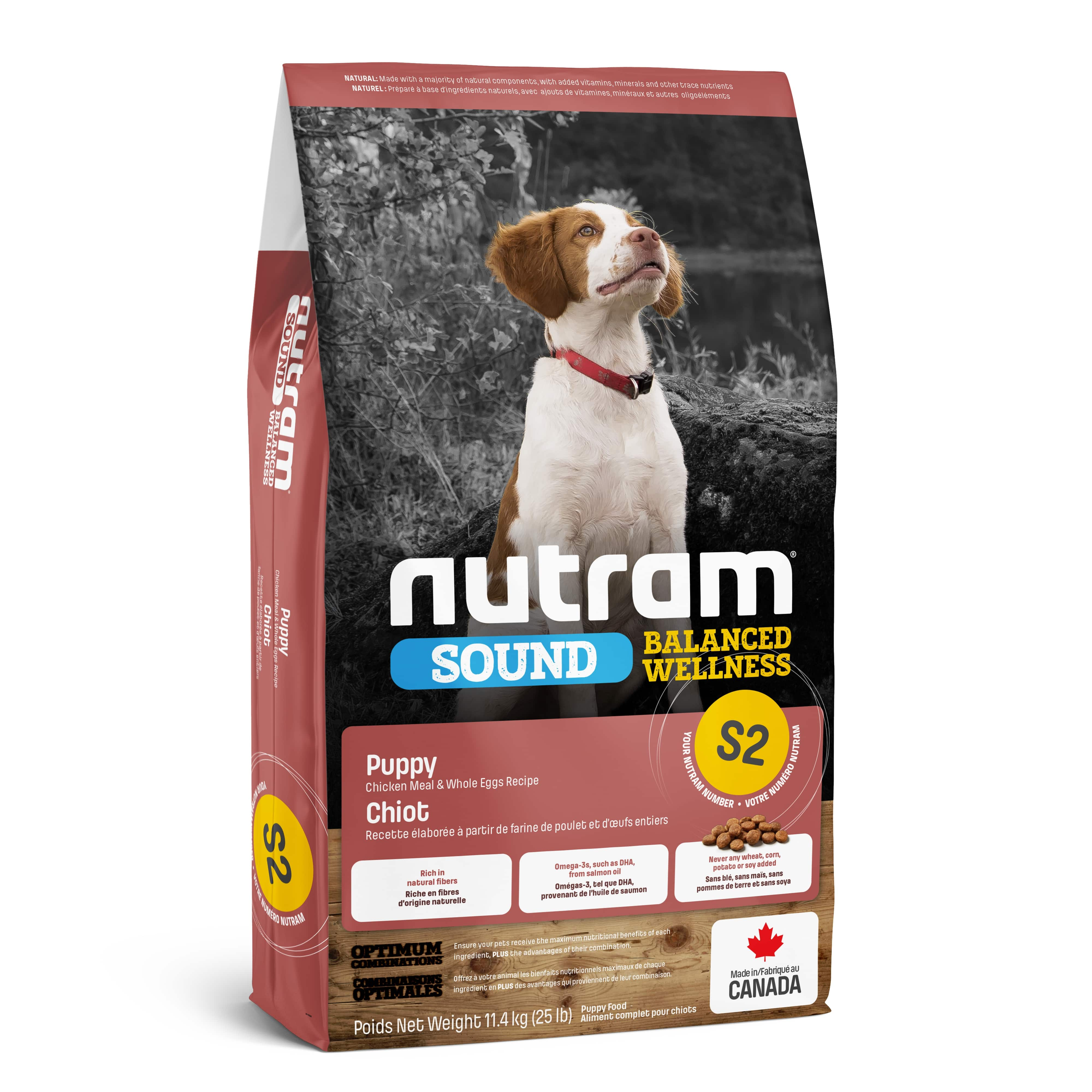 S2 Nutram Sound Balanced Wellness® Natural Puppy Food