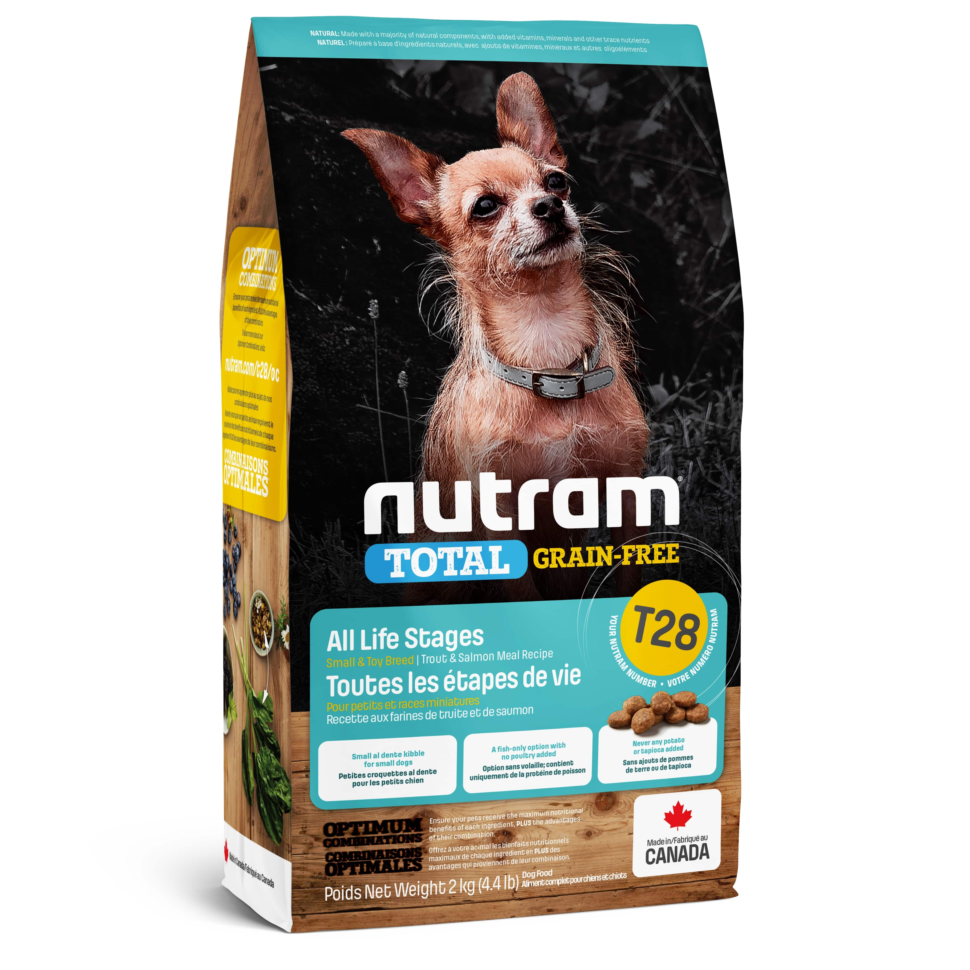 T28 Nutram Total Grain-Free® Salmon & Trout Small Breed Dog Food