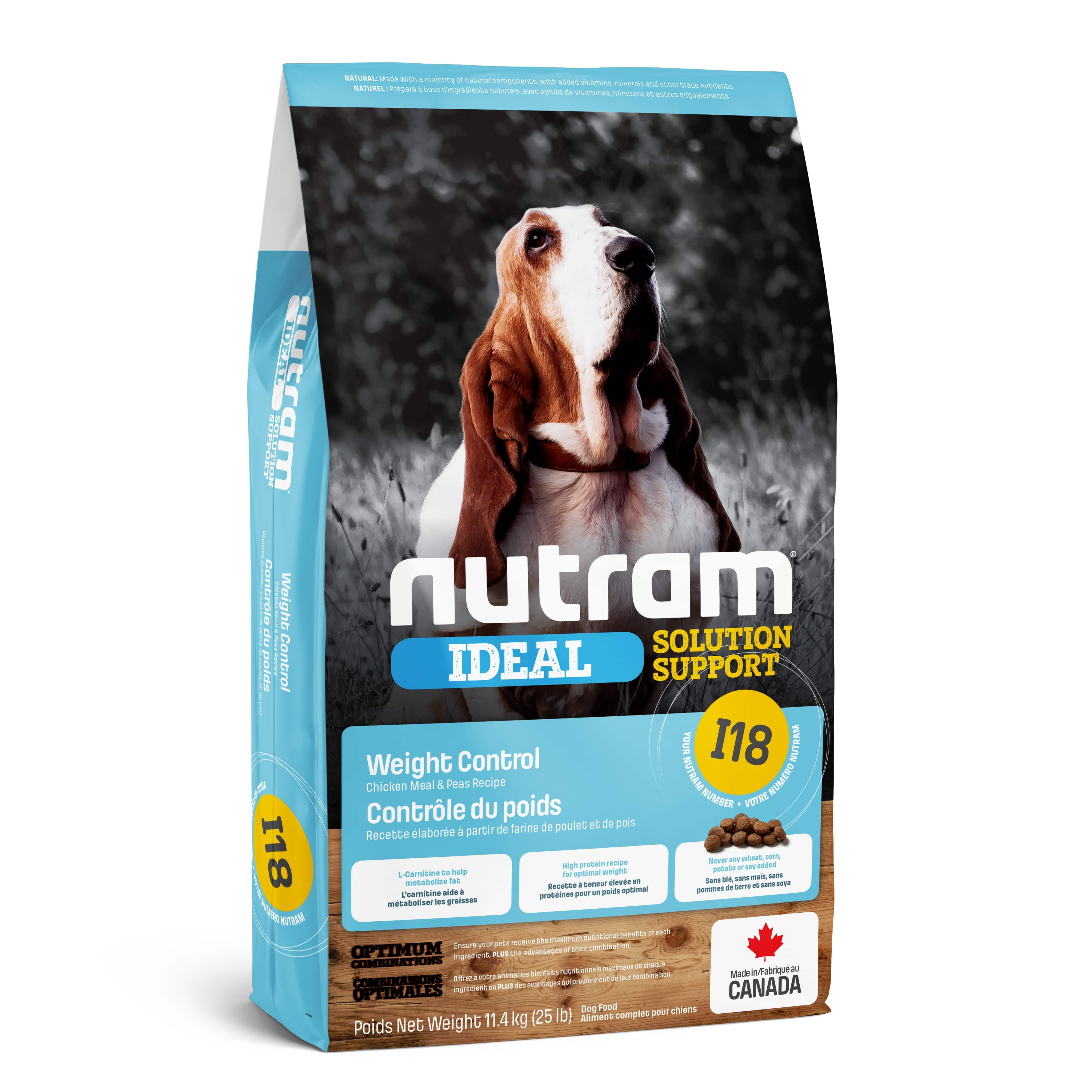 I18 Nutram Ideal Solution Support® Weight Control Dog Food