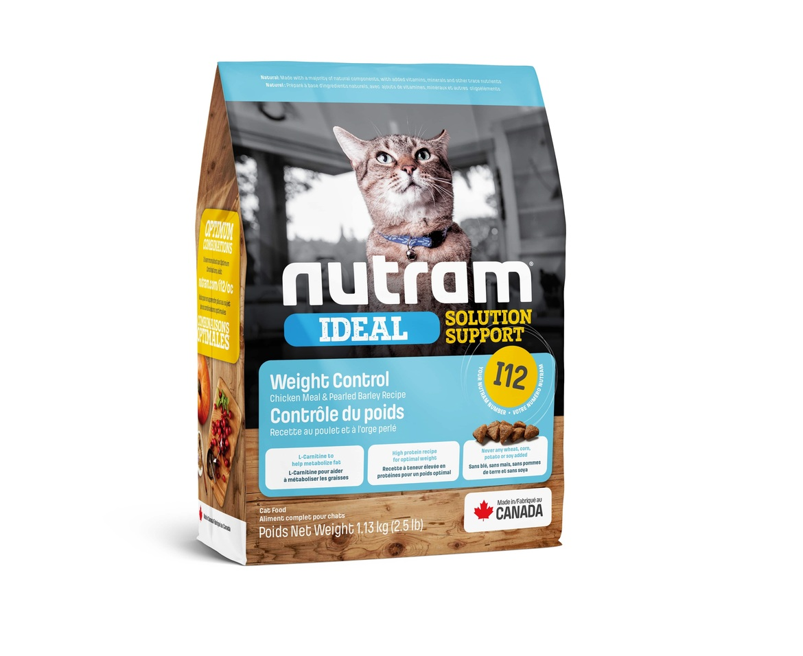 I12 Nutram Ideal Solution Support® Weight Control Cat Food